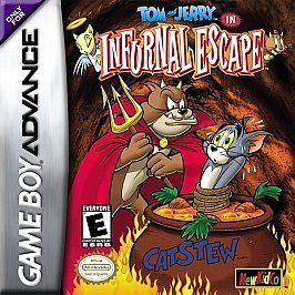 New Tom & Jerry in Infurnal Escape GBA Video Game