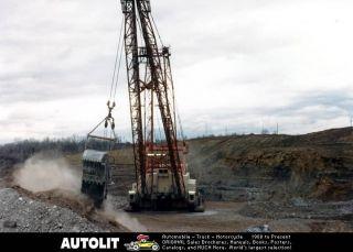 1975 central ohio coal dragline crane photo time left $