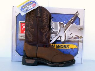 tony lama tlx mens briar pitstop work western boots