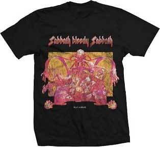 BLACK SABBATH SABBATH BLOODY SABBATH ALBUM COVER T SHIRT MEDIUM OR XL