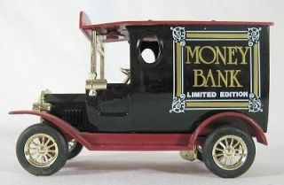 rare 1920 s style money bank truck limited edition time