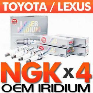 OE Laser Iridium Spark Plug Set for Toyota Corolla,Matrix,Prius,Tacoma