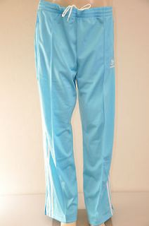 Adidas Originals Adicolor Firebird Track Pant Light Aqua White XL