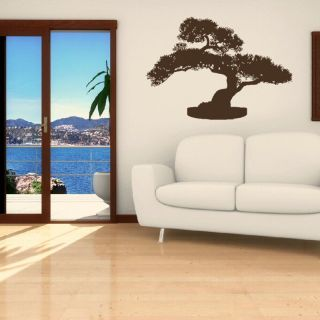 LARGE BONSAI TREE CHINESE WALL DECAL STICKER NEW giant stencil vinyl