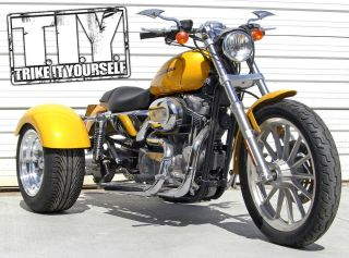 trike kit for harley davidso n sportster trike conversion kit