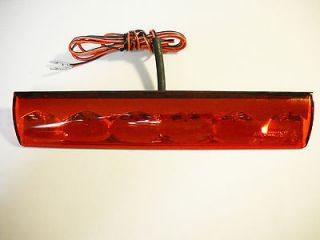 Truck cap,Topper Third Brake Light L.E.D. Recessed