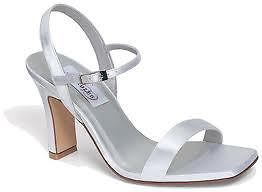 NEW DYEABLES SHOES CHABLIS WHITE SATIN BRIDAL PROM WEDDING HEELS PUMP