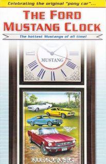 DANBURY MINT THE FORD MUSTANG CLOCK BROCHURE   the original pony car