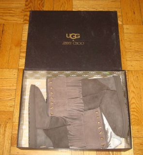 Size 11 UGGS JIMMY CHOO 100% Authentic BOOTS SHOES Western Cowboy Tall