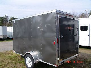 Newly listed 6x12 v nose enclosed motorcycle cargo trailer ramp door