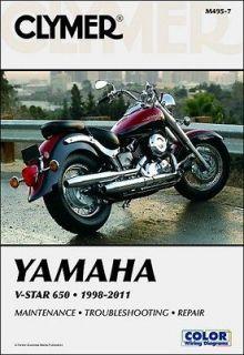 1998 2011 yamaha v star xvs 650 repair manual time