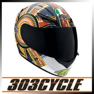 AGV Valentino Rossi 46 K3 Dreamtime Full Face Motorcycle Helmet