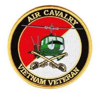 air cavalry vietnam veteran patch  5 95