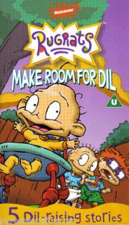 rugrats make room for dil 5 episodes pal vhs video time left $ 5 62 or