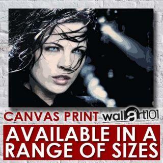 Kate Beckinsale (4)   Underworld Paint Effect High Quality Framed