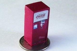 HO CUSTOM VINTAGE BOTTLE COKE SODA POP VENDING MACHINE, B 1, COCA COLA
