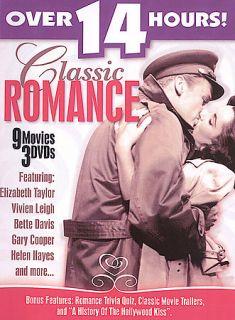 Classic Romance DVD, 2005, 3 Disc Set