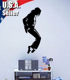 Wall Decor Art Vinyl Removable Decal Sticker Music Michael Jackson