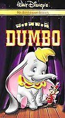 walt disney s dumbo 60th anniversary edition vhs 2001 good
