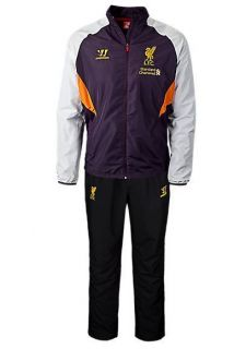 WARRIOR LIVERPOOL TRAINING PRESENTATION TRACKSUIT 2012 13 MENS 100%