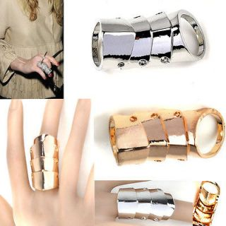 New Fashion Cool Punk Rock Gothic Scroll Armor Joint Knuckle Double