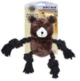 AKC ROPE LEGS BEAR   DOG PUPPY TOY   Youre Dog or Puppy Will LOVE