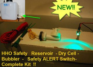 HHO Reservoir Water Level Alert Turn Off Indicator Switch Dry Cell