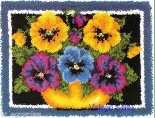 latch hook rug kit in Latch Hooking Kits