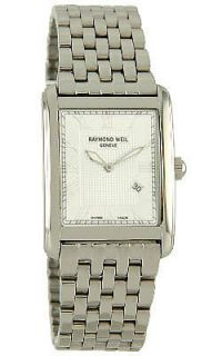 Raymond Weil Don Giovanni Mens Silver Dial Swiss Quartz Watch 9975 ST