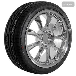 Mercedes Benz 2010 CL CLK E S SL chrome wheels rims and tires package