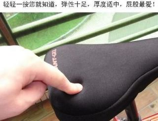 bike bicycle thick soft gel saddle seat cover cushion from