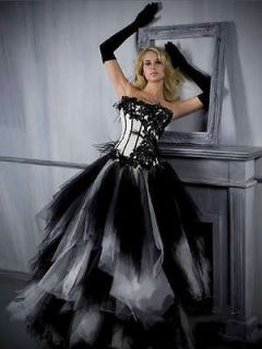 Halter Dress on Davids Ball Gown Opera Black Halter Dress Satin Victorian Bustle Red