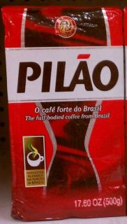 PILAO O CAFÉ FORTE DO BRAZIL GROUND COFFEE 500g/17.6 OZ FULL BODIED