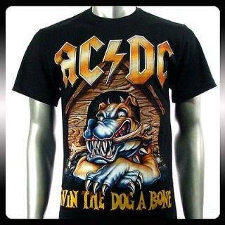 AC/DC Angus Young Heavy Metal Music T shirt Sz XXL 2XL Rock Punk Men