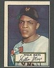 1952 Topps 261 WILLIE MAYS New York Giants for 99c 2 Cards