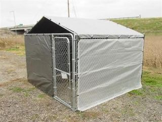 dog kennel cover, winter bundle for 7 1/2 wide x 13 long kennel