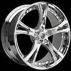 Inch Lexani LX 149 Chrome Wheels Rims *BLANK* FREE DRILLING 5 SPOKE