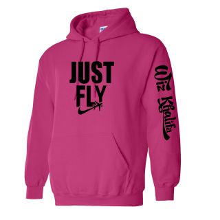 New JUST FLY Wiz Khalifa Hoodie Taylor gang or die multi color Fan