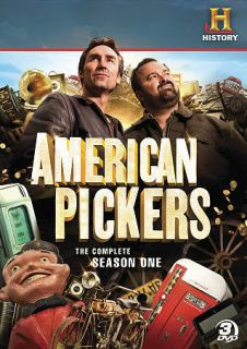Pickers Complete Season One DVD 2010 3 Disc Set Mike Wolfe Frank Fritz