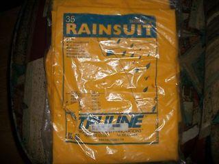 xl 3 piece rain suit w removable hood by safe