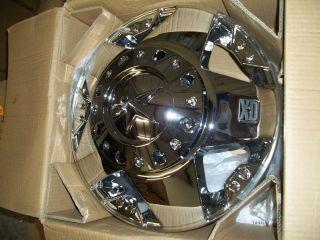 Xd Series Rockstar Dually Xd7 Chrome Wheels 17 x 6 (2 front wheels)