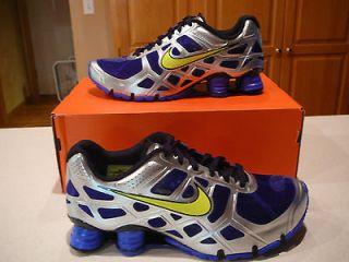 men s nike shox turbo+ xii 12 shoes $ 120 sz 10 5 new