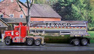 Texaco Peterbilt 359 Semi w Tanker Racing Rigs ho slot car Xtrac afx