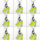 Lots 9PCS Disney Princess Snow White Necklace Kids Birthday Party Bag
