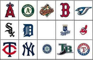 MLB Baseball Nail Decals Set of 20   Choose from 14 designs