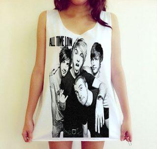 All Time Low pop punk band Music Metallica Music Dress Tank Top Shirt