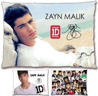 New [1D] Zayn Malik [One Direction] PrePrinted Autograph Pillow Case