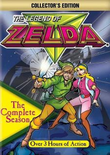 The Legend of Zelda   The Complete Animated Series DVD, 2012, 3 Disc