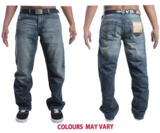 mens fbm14 fakeblue branded designer jeans sizes 28 40 great
