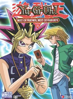 Yu Gi Oh   Vol. 11 Best of Friends, Best of Duelists DVD, 2003, Edited